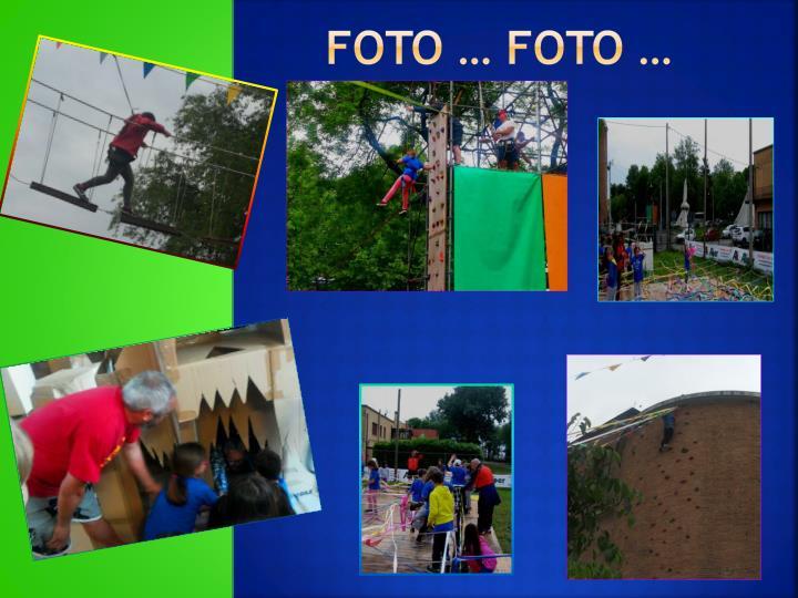 Foto … foto …