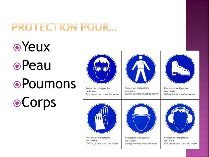 Protection pour…