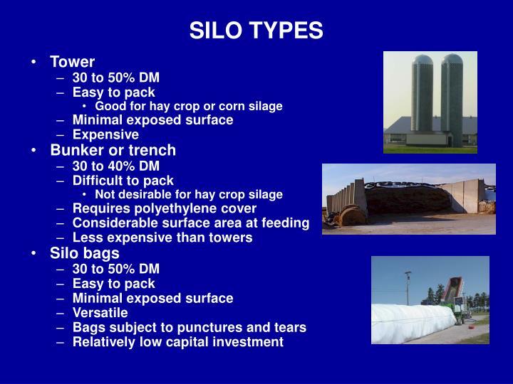 SILO TYPES