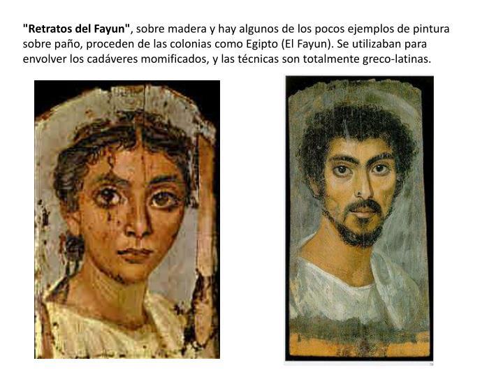 """""""Retratos del"""