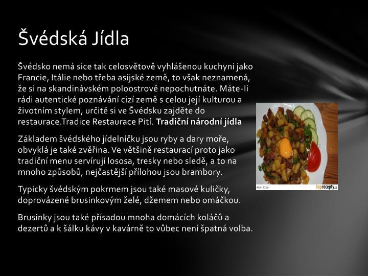 Švédská Jídla