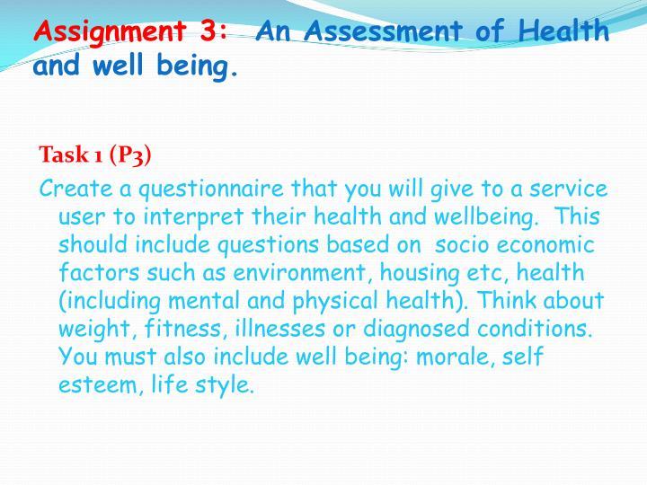 Assignment 3: