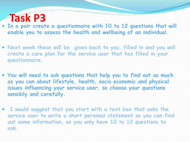 Task P3