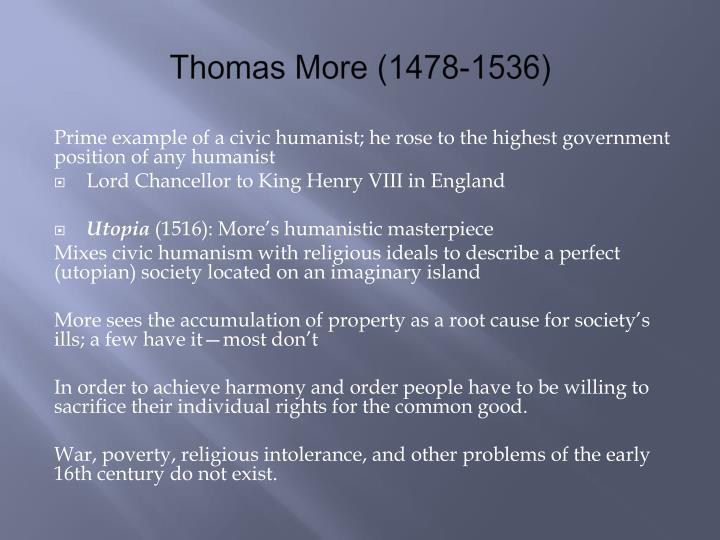 Thomas More (1478-1536)