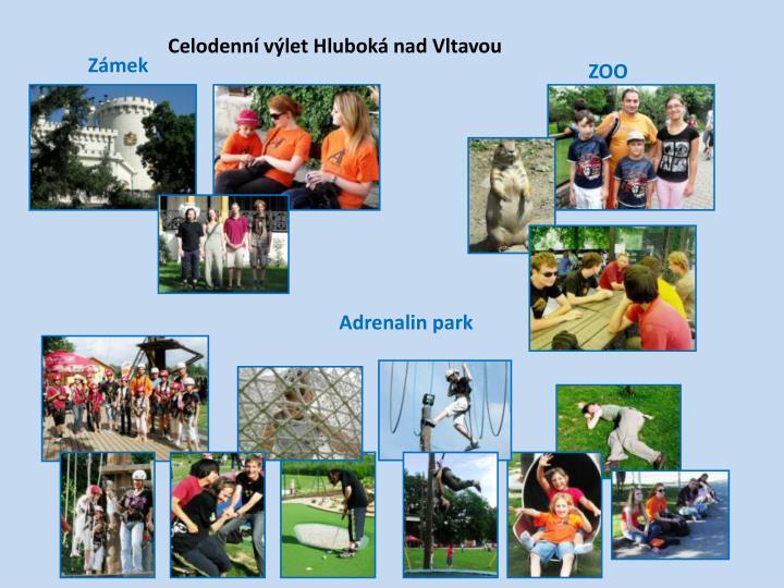 Celodenní výlet Hluboká nad Vltavou