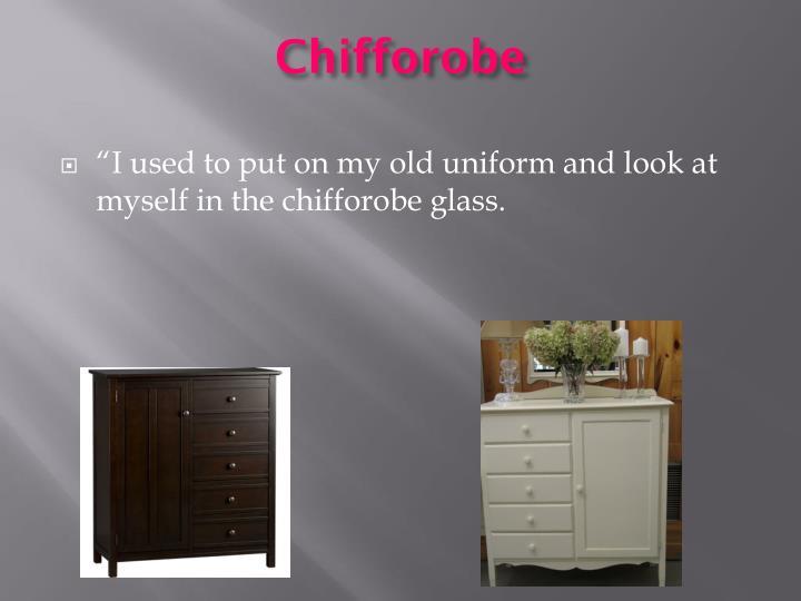 Chifforobe