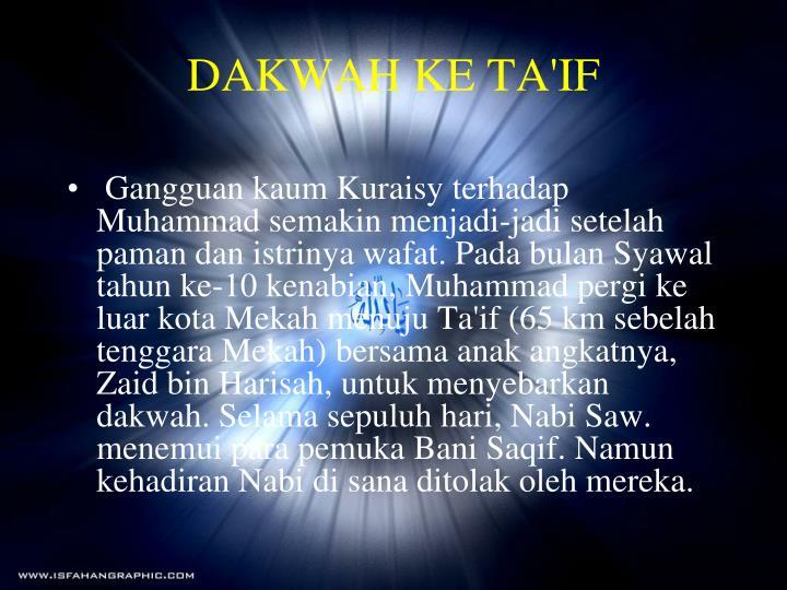 DAKWAH KE