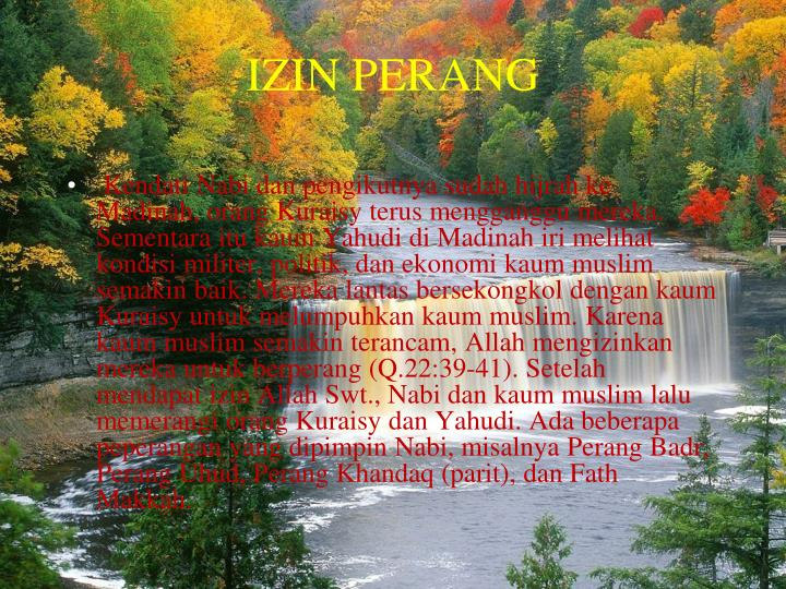 IZIN PERANG