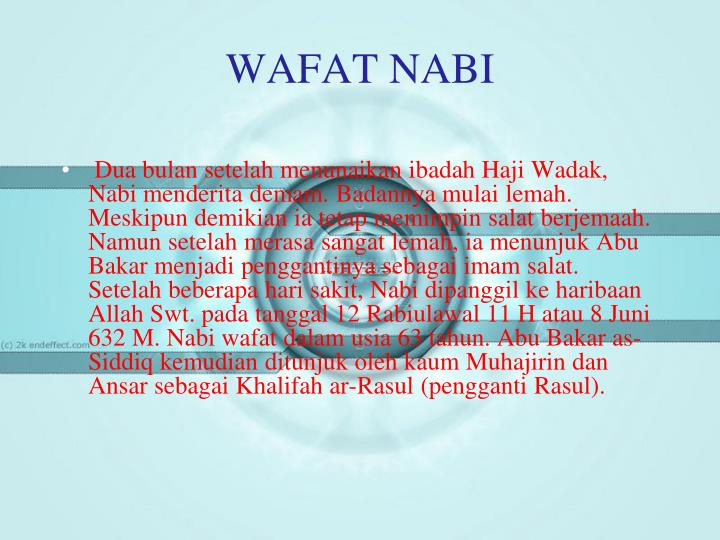 WAFAT