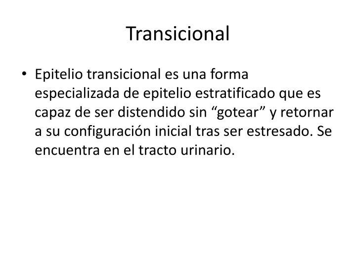 Transicional