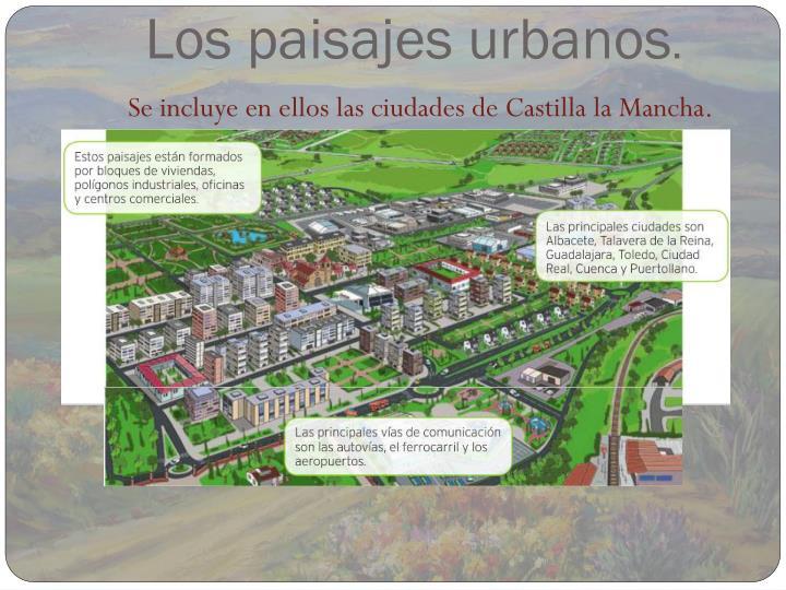 Los paisajes urbanos