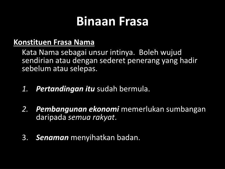 Binaan