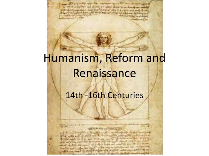 humanism during the renaissance essay example