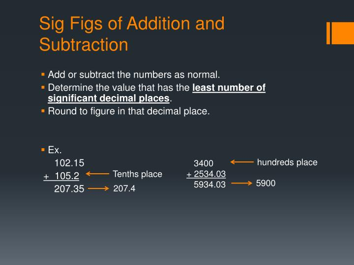 Ppt Significant Figures And Scientific Notation