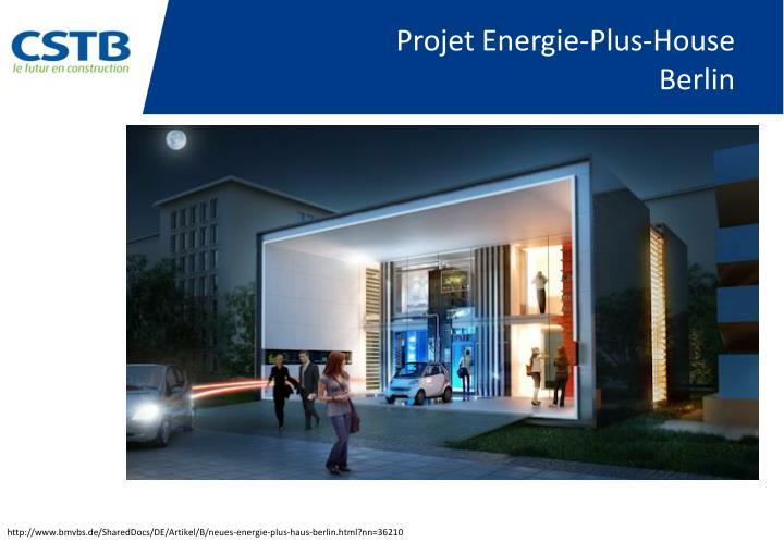 Projet Energie-Plus-House
