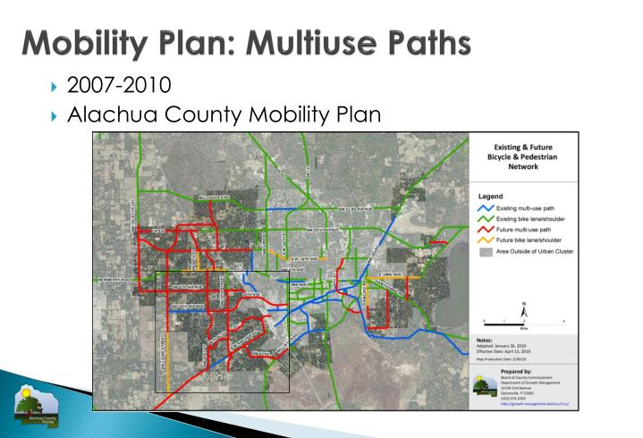 Mobility Plan: Multiuse Paths