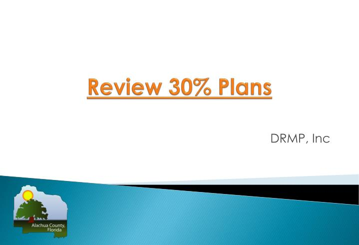 Review 30% Plans
