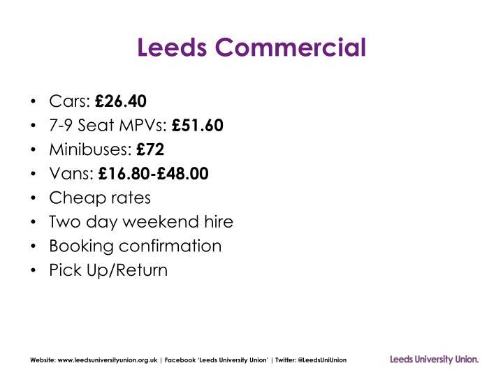 Leeds Commercial