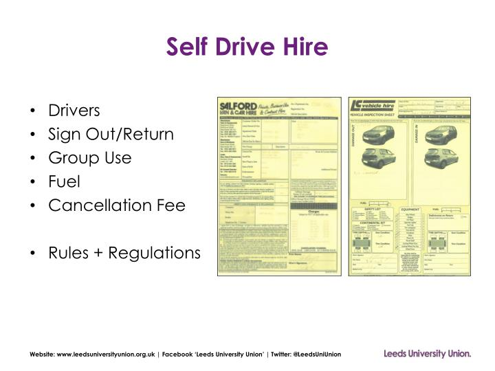 Self Drive Hire