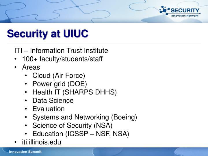 Security at UIUC
