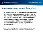 a young person s view of the workers