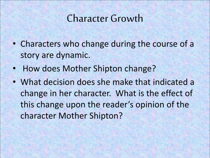 Character Growth