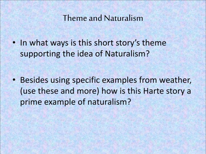 Theme and Naturalism