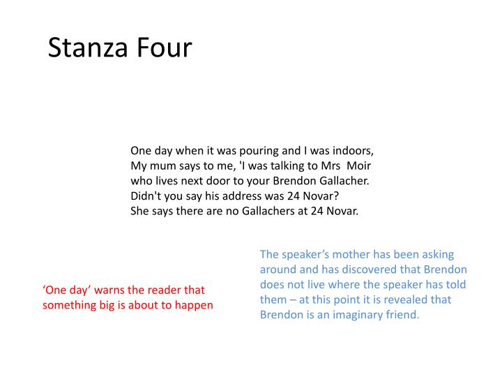 Stanza Four
