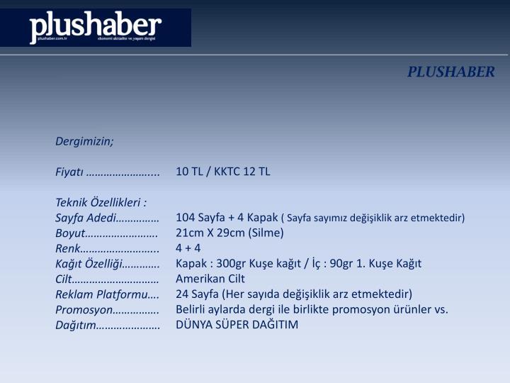 PLUSHABER