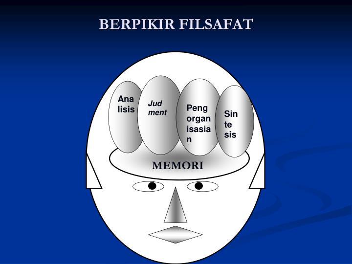 BERPIKIR FILSAFAT