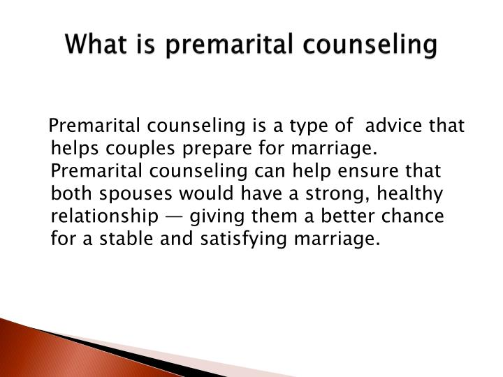 outline for premarital counseling During the 15 years of being in the field of marriage and family, i have specialized in premarital education (premarital counseling.