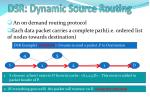 dsr dynamic source routing