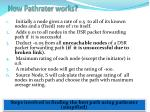 how pathrater works