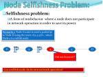 node selfishness problem