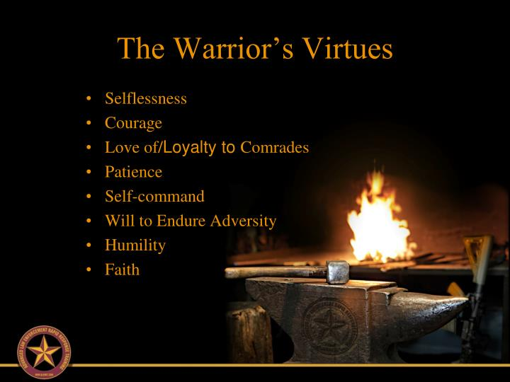 The warrior s virtues