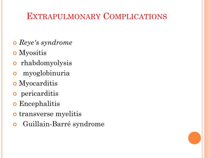 Extrapulmonary