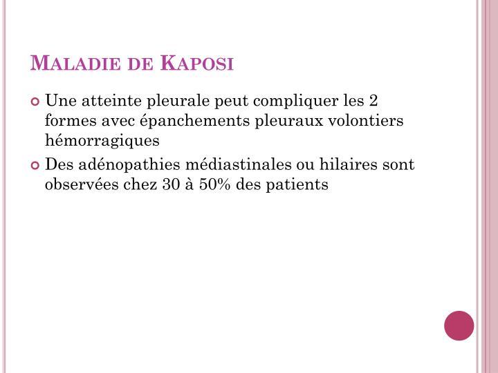 Maladie de Kaposi