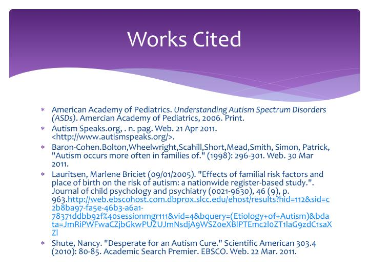 Works Cited