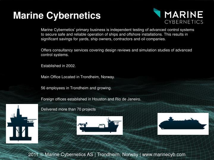 Marine Cybernetics