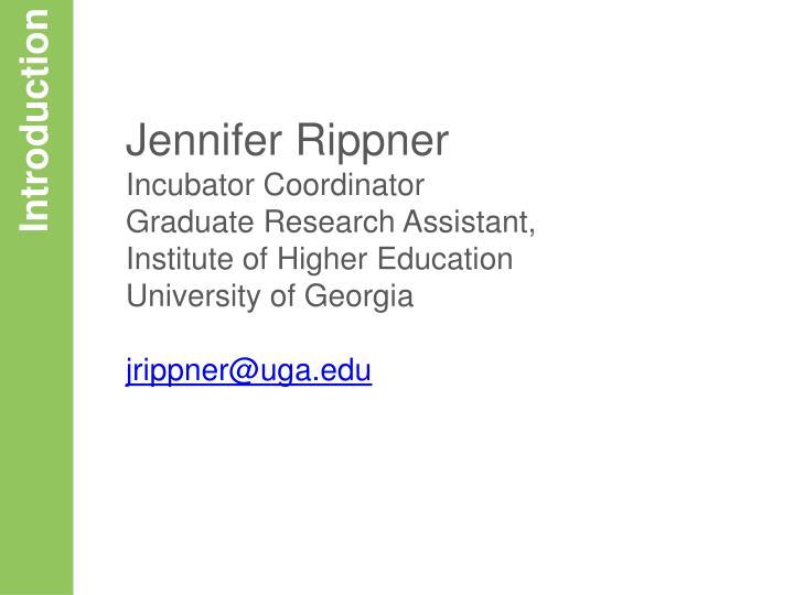 Jennifer Rippner