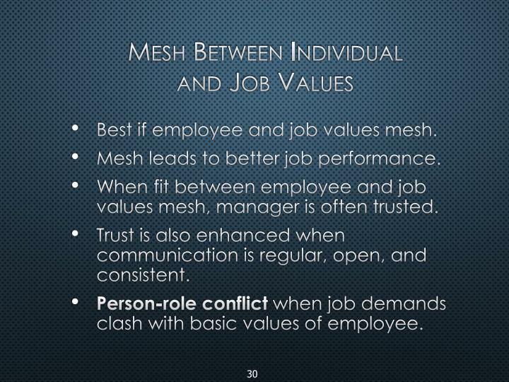 Mesh Between Individual