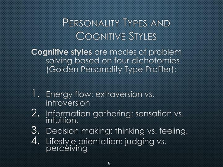 Personality Types and