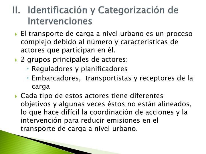 II.Identificación
