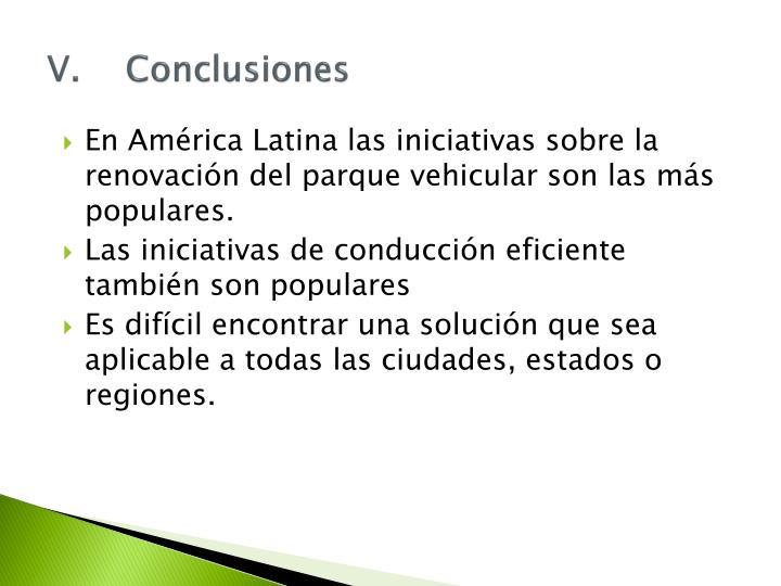 V.Conclusiones