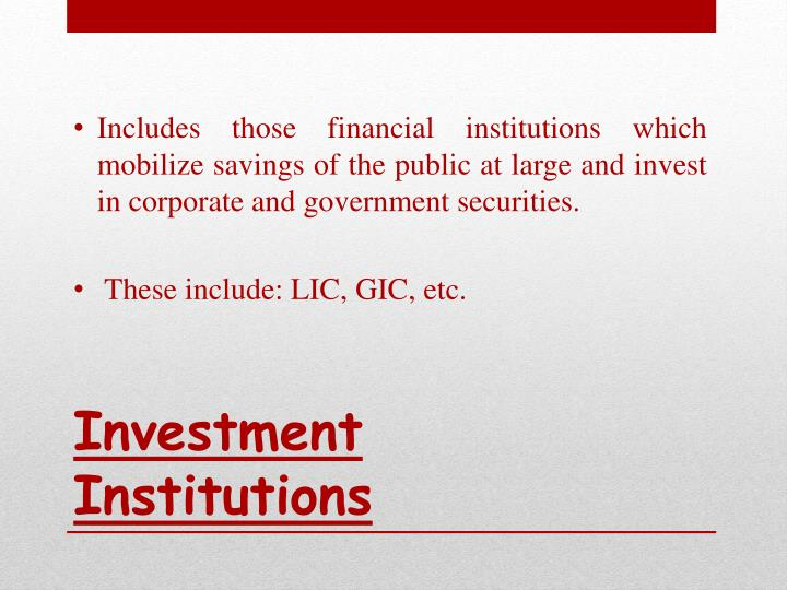 types of financial institutions pdf