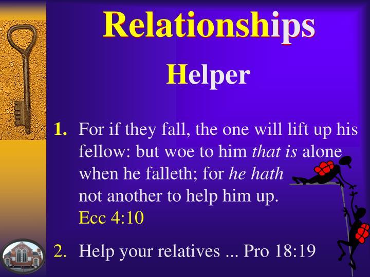 Relationsh