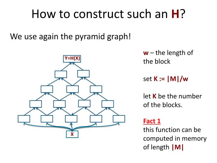 How to construct such an