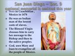 san juan diego dec 9 optional memorial is omitted this year