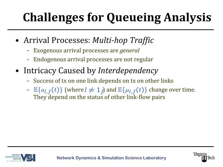 Challenges for Queueing Analysis