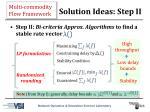 solution ideas step ii